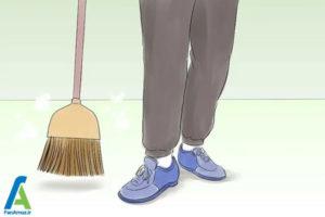 2 ورزش کردن هنگام انجام کارهای خانه
