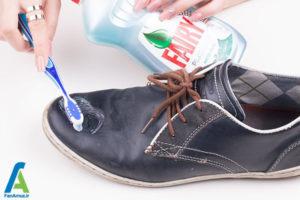5 رفع لکه خراشیدگی روی کفش