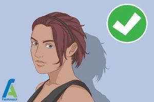 5 اصول استفاده از هدبند برای موهای کوتاه