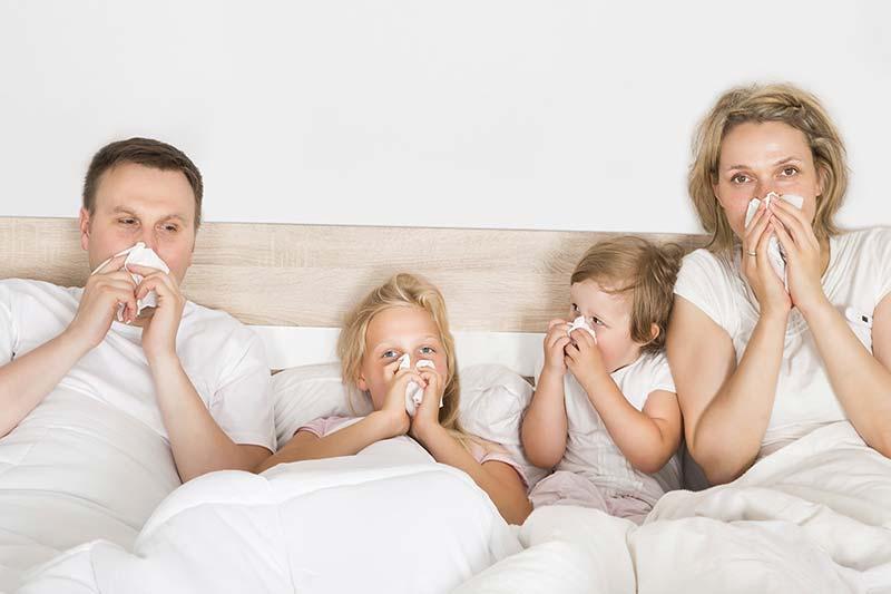 5 عوامل بیماری زا در منزل