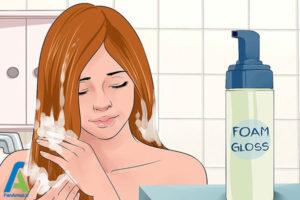 3 جلوگیری از تغییر رنگ موی بلوند