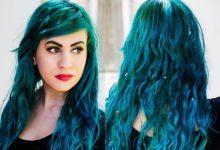 Photo of چگونه رنگ موی آبی و سبز را بدون دکلره در خانه پاک کنیم؟