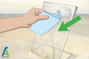 4 اصول پاک کردن سطح پلی متیل متاکریلات