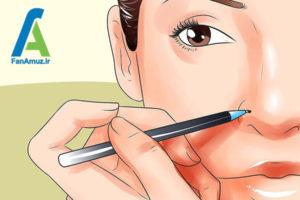 3 پیرسینگ بینی