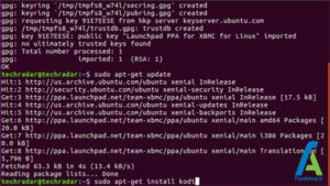 5 نصب کودی در لینوکس