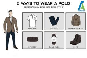 6 ست پولوشرت با انواع لباس و کفش