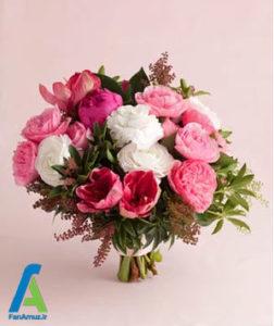 6 گلهای مناسب دسته گل صورتی