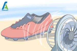 6 خشک کردن سریع کفش ورزشی