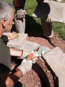 4 ساخت منقل در حیاط