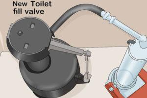 6 نحوه تعویض و تعمیر فلش تانک و سیفون توالت