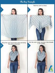 5 آموزش بستن دستمال گردنی