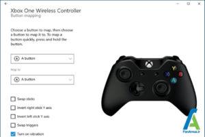 6 عملکرد دکمه کنترلر Xbox1