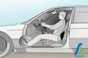 6 تنظیم صحیح صندلی ماشین