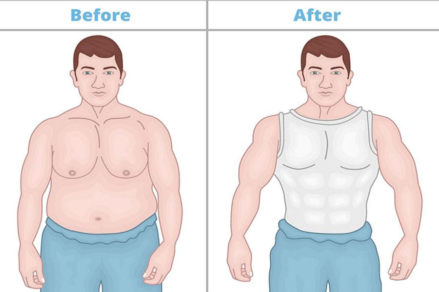 5 لباس مناسب مردان با سینه های بزرگ