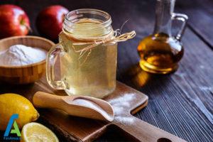 5 درمان گلو درد با سرکه سیب