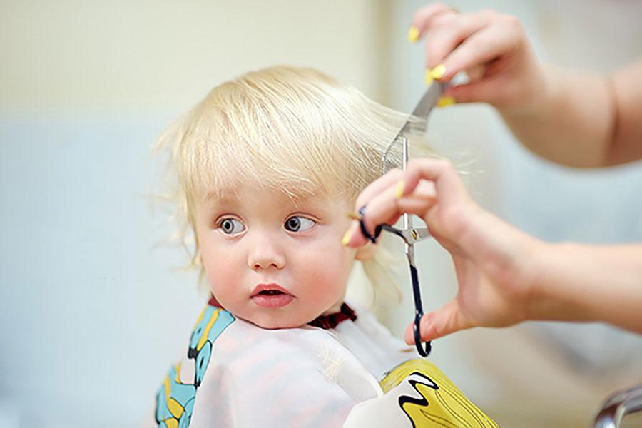 6 اصلاح اصولی موی کودکان