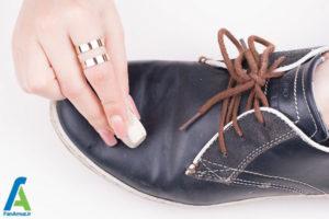 6 رفع لکه خراشیدگی روی کفش