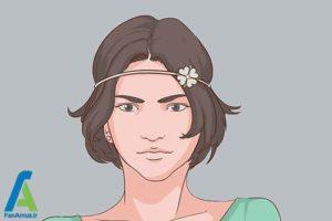 6 اصول استفاده از هدبند برای موهای کوتاه