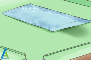 6 تمیز کردن پوشش نمدی سطح میز بیلیارد