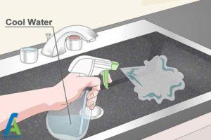 3 اصول تمیز کردن سینک مشکی