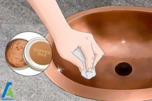 6 تمیز کردن سینکهایمسی