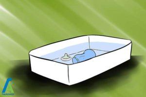 3 تمیز کردن شیشه شیر کودک
