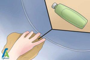 4 از بین بردن لکه جوهر داخل لباسشویی