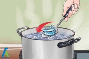 2 نحوه استفاده از گیره رفع خر و پف