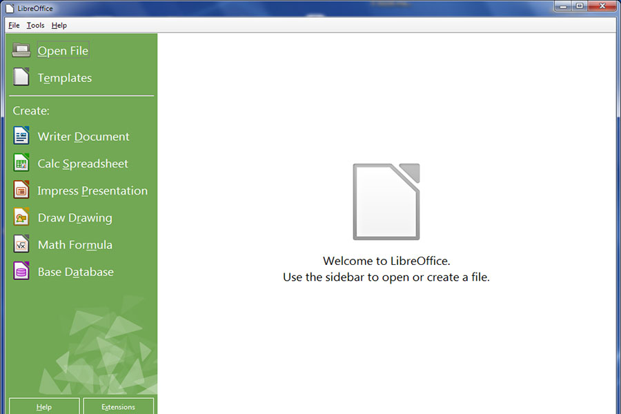 7 نرم افزار LibreOffice Writer