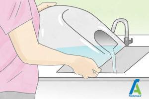 4 نحوه تمیز کردن بخارشوی