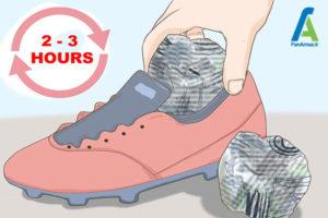 7 خشک کردن سریع کفش ورزشی