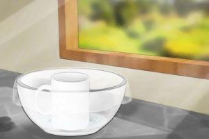 6 گرفتن املاح آب و تهیه آب مقطر