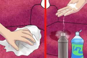 7 پاک کردن ادرار حیوانات از مبل