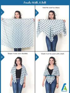 6 آموزش بستن دستمال گردنی