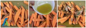 6 تهیه انواع خوراک سبزیجات