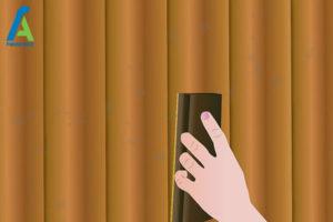4 از بین بردن قارچ و کپک حصار چوبی