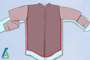 7 تغییر سایز پیراهن گشاد
