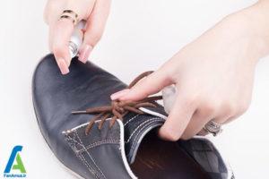 7 رفع لکه خراشیدگی روی کفش