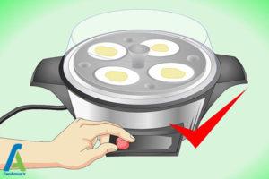 7 آب پز کردن تخم مرغ بدون پوست