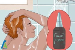 4 جلوگیری از تغییر رنگ موی بلوند