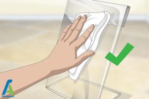 6 اصول پاک کردن سطح پلی متیل متاکریلات