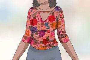 7 لباس مناسب دختر بلندقد