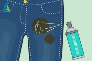 4 پاک کردن لکه گریس از شلوار