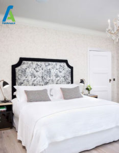 7 طراحی تاج تختخواب