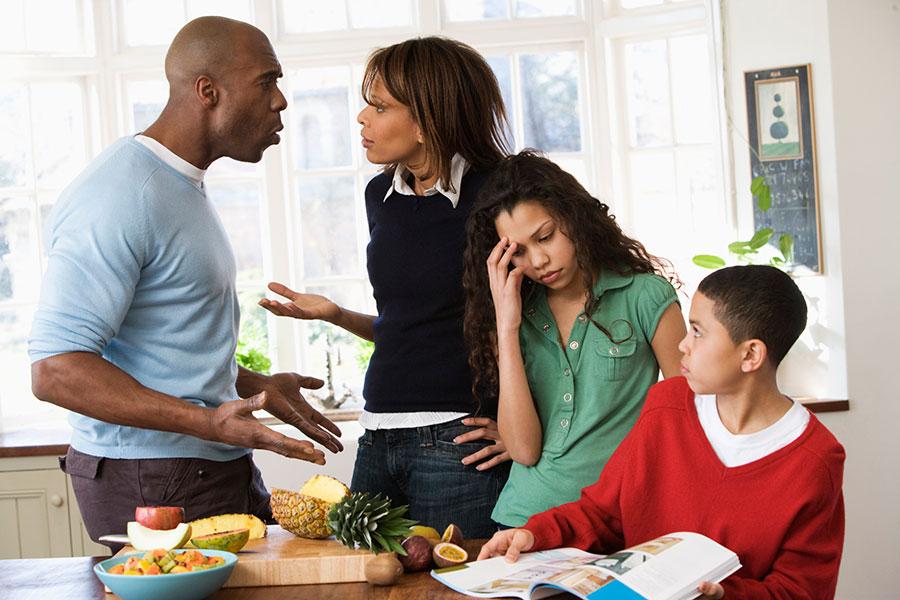 5 حل بحران خانوادگی