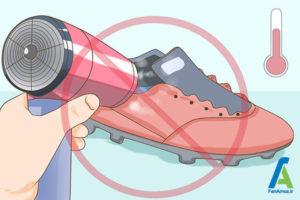 8 خشک کردن سریع کفش ورزشی