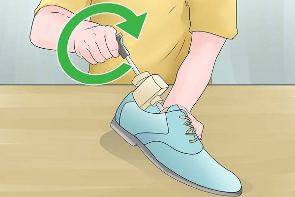 6 افزایش سایز کفش جیر