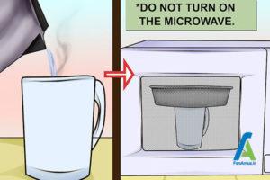 8 جدا کردن کیک سوخته از قالب