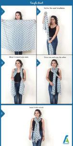 7 آموزش بستن دستمال گردنی