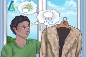 6 مراقبت صحیح از لباس خزدار